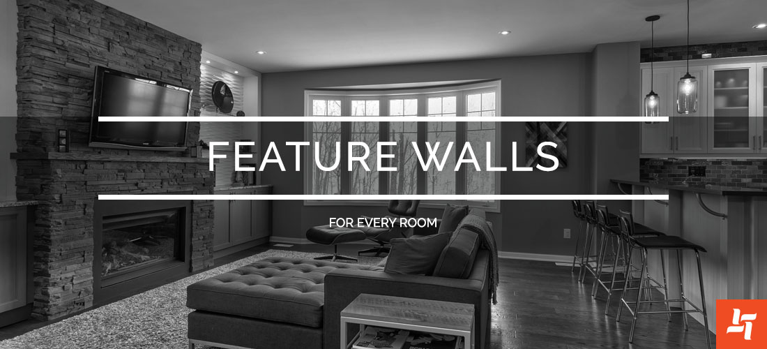 Featured Walls For Every Room