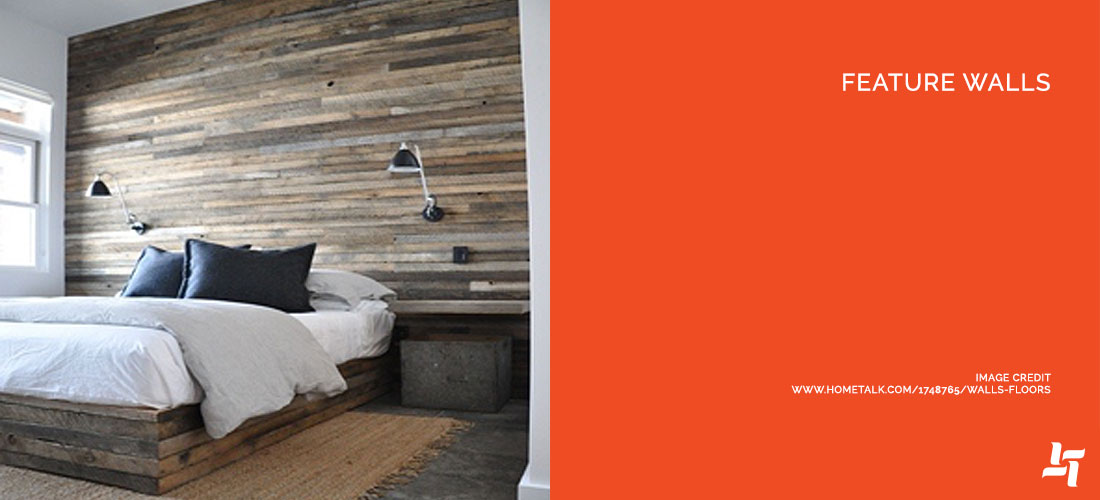 Featured Walls for Bedroom