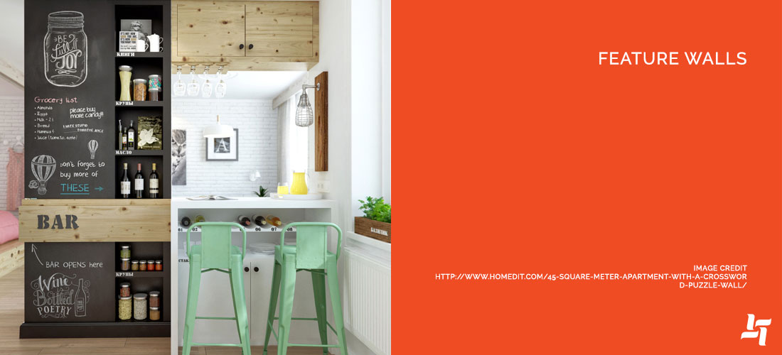Featured Walls for Kitchen